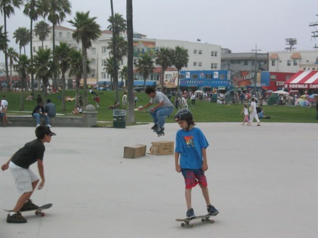 014 sun la venice skate jump