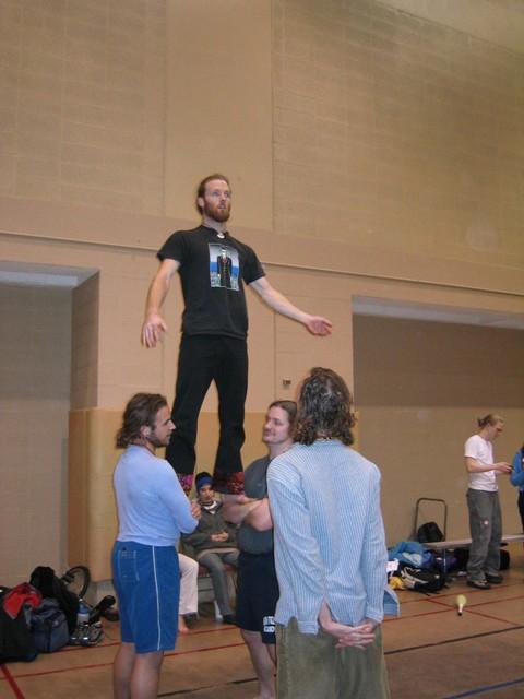 balancing derrick
