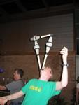 nate balancing clubs
